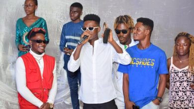 Photo of Fiifi Lattex Wins Artiste Of The Year At Golden City Entertainment Awards