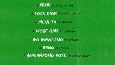 Photo of Bosom P Yung – Acheampong Boys (Full EP)