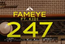 Photo of Official Video: Fameye – 247 Ft KiDi