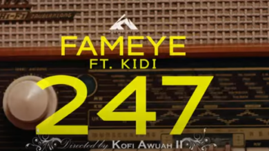 Photo of Official Video: Fameye – 247 Ft KiDi