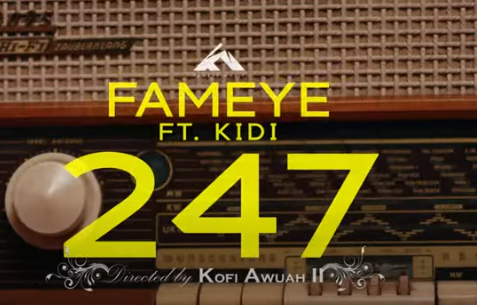 Official Video: Fameye - 247 Ft KiDi