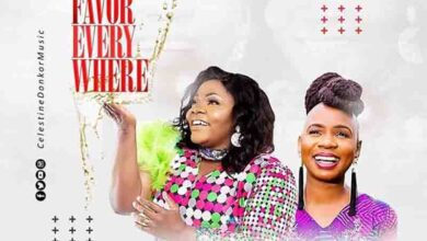 Photo of Celestine Donkor – Favor Everywhere Ft Evelyn Wanjiru