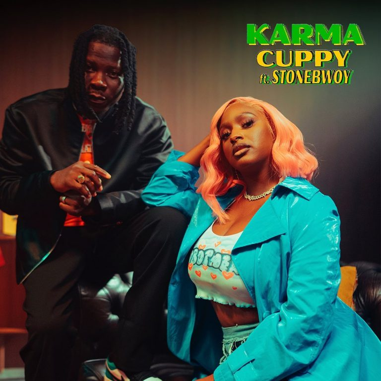 Official Video: DJ Cuppy – Karma Ft Stonebwoy