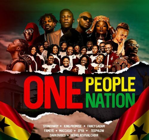 Photo of Stonebwoy – One People One Nation Ft King Promise, Fancy Gadam, Fameye, Efya, Teephlow, Maccasio, Darkovibes & Bethel Revival Choir.