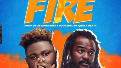 Photo of Tee Rhyme – Fire Ft Ras Kuuku (Prod. By Sevensnares)
