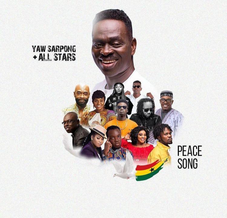 Yaw Sarpong – Peace Song Ft Kuami Eugene, Fameye, Akwaboah, Joyce Blessings, Wutah Afriyie, Eno Barony, Kofi Sarpong, Pat Thomas, Lord Morgan & Dr Pounds