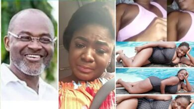 """Photo of Tracy Boakye's alleged """"naked video"""" report. Some Ghanaians got Kennedy Agyapong Vindicated"""