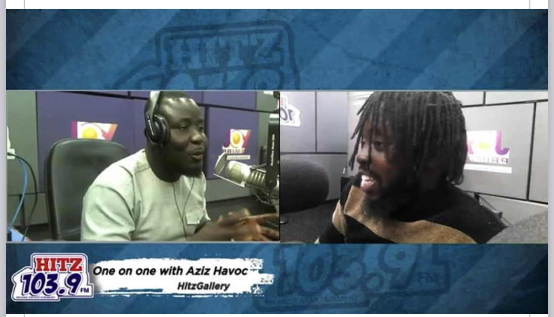 Dr Pounds Shocked At Aziz Havoc 30 Minutes Non Stop Rap Freestyle On Hitz Fm