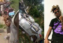Photo of Video: Quamina Mp Survives Car Crash Accident